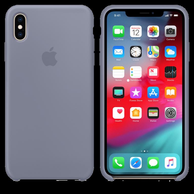 iPhone XS Max силиконовый чехол